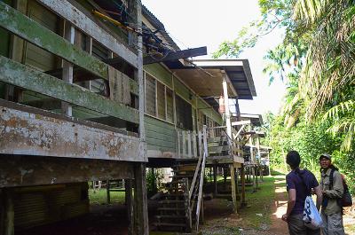 Bako - Maisons des rangers