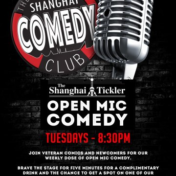 Shanghai Comedy Club Open Mic Tuesday
