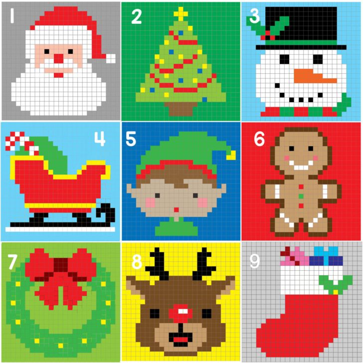 ChristmasCharactersGraph_Square9_2