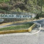 vía del Solar del Hatillo