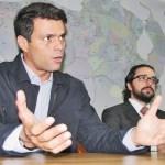 Leopoldo López razona que la persecución en su contra obedece al propósito de impedirle que sea candidato: en 2008 a alcalde metropolitano de Caracas y en 2012 a Presidente de la República.