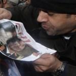 Estados Unidos sopesa «las acciones apropiadas» para responder al discurso del hijo de Gadafi.