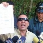 Los uniformados denunciaron despidos injustificados, maltrato, hostigamiento y actos graves de corrupción por parte del director del organismo, Renny Villaverde.