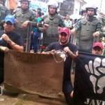 Miembros de Javu en Barinas exigen libertad del Gral. Defín Gómez Parra.