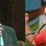 """Se armó una """"tángana"""" entre Diosdado y Abelardo Díaz fuera de cámaras en la AN."""