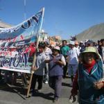 Humala y Fujimori apuran la campaña con mítines aymaras pretenden ingresar a la ciudad de Puno.