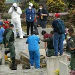 Los cadáveres de William Pérez, Pedro Rivero y Rubén Arnal fueron exhumados la semana pasada a petición de la Fiscalía.