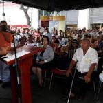 Diosdado Cabello dijo en un foro en la Asamblea, que el fondo recibirá los pagos que hacen los inquilinos en los tribunales.