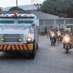 En el traslado de las reservas participaron seguridad del BCV, la FAN y otros cuerpos de seguridad .