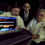 De izq. a der. los blogueros Dionisio de la Torre, Luis Domínguez y Aldo Rosado-Rosado, quienes publican en internet los datos sobre figuras del régimen cubano.