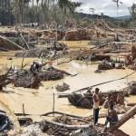 Los riesgos de la explotación por aluvión incluyen deslizamientos de tierra que pueden ser mortales.