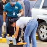 Expertos en balística procedentes de Caracas descubrieron ayer dos perforaciones de balas en el asiento del conductor de la camioneta que ocupaba Fernando Berendique Jr.