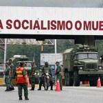 Una caravana de vehículos pesados trasladó, ayer por la autopista Puerto Cabello-Valencia parte del arsenal procedente de Rusia.