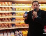 Chávez, durante la re-inauguración de hipermercado expropiado 1