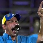 Henrique Capriles en maracaibo