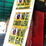 Escasez de gas doméstico es persistente, cronica en distribuidoras y los estantes de Maracay.