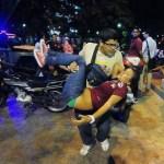 Estudiantes  fueron atacados a tiros por un grupo de motorizados que vestían franelas rojas.