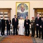 Maduro visita Papal