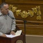 """Cabello añadió que """"el pueblo chavista"""", por el recientemente fallecido Hugo Chávez, """"ha sido muy paciente""""."""