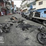 En el colectivo La Piedrita quemaron 30 vehículos financiados por el gobierno