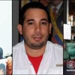 """El escándalo se posó en Ferrominera con personajes entre los que destacan, de izquierda a derecha, Radwan Sabbagh, Juan Álvarez Dionisi y Luis Velásquez, a quien antes procesaron por la """"Mafia de las cabillas"""" ."""
