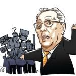 Luis Miquelena, según la leyenda tutor de Chávez