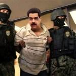 En la gráfica el Cicpc captura a Nicolás Maduro por corrupción e incapacidad mental.