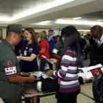 La Fiscalía informó que 750 pasajeros fueron revisados, de los cuales 228 fueron chequeados en el Sistema de Verificación Inmediata de Cadivi.