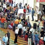 En el aeropuerto Maiquetía, de Caracas.Un pasaje hacia Quito puede costar hasta u$ 2, 000.