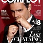 Portada de Complot Magazine con Luis Chataing
