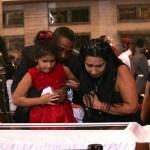 Sara Manuela de 5 años y su madre que tiempo atras fue azafata del avión presidencial de Venezuela.