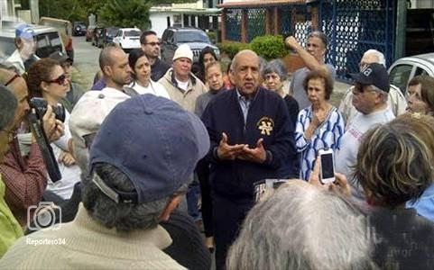 """El coronel (r)  Machillanda dice que allanamiento """"es un abuso por parte del Gobierno."""