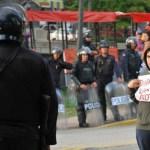 Denuncian censura y autocensura estudiantes policia venezuela