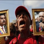 Caracas a un año de la muerte de Chávez 2
