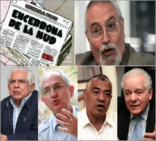 ARMANDO DURÁN, El informe Hospedale, MUD, Unidad, Lopez, Crapriles, Aveledo