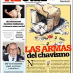 Tal Cual portada Las armas del chavismo