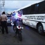 Enfrentamientos a tiros en el Retén El Marite de Maracaibo 2