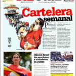 LAUREANO MÁRQUEZ, Cartelera semanal