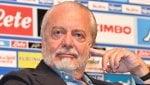 De Laurentiis: ''Sarri voleva smontarmi la squadra. Cavani? Non lo prenderò''