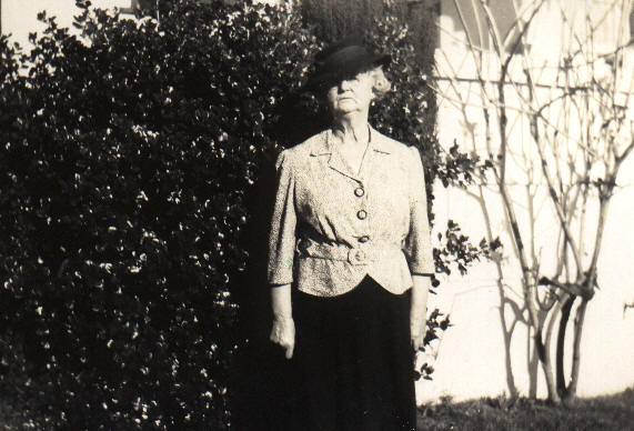 Granny Jackson in the 1940s