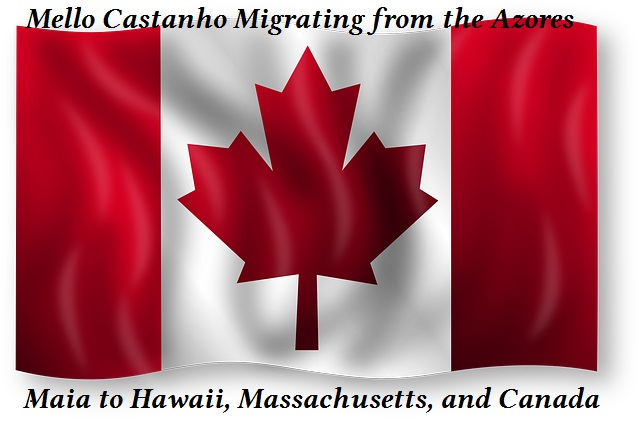 Mello Castanho Migrating from the Azores: Hawaii, East Coast, and Canada