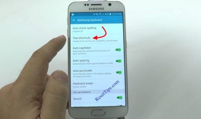 hard reset Galaxy S6 - hidden feature-13