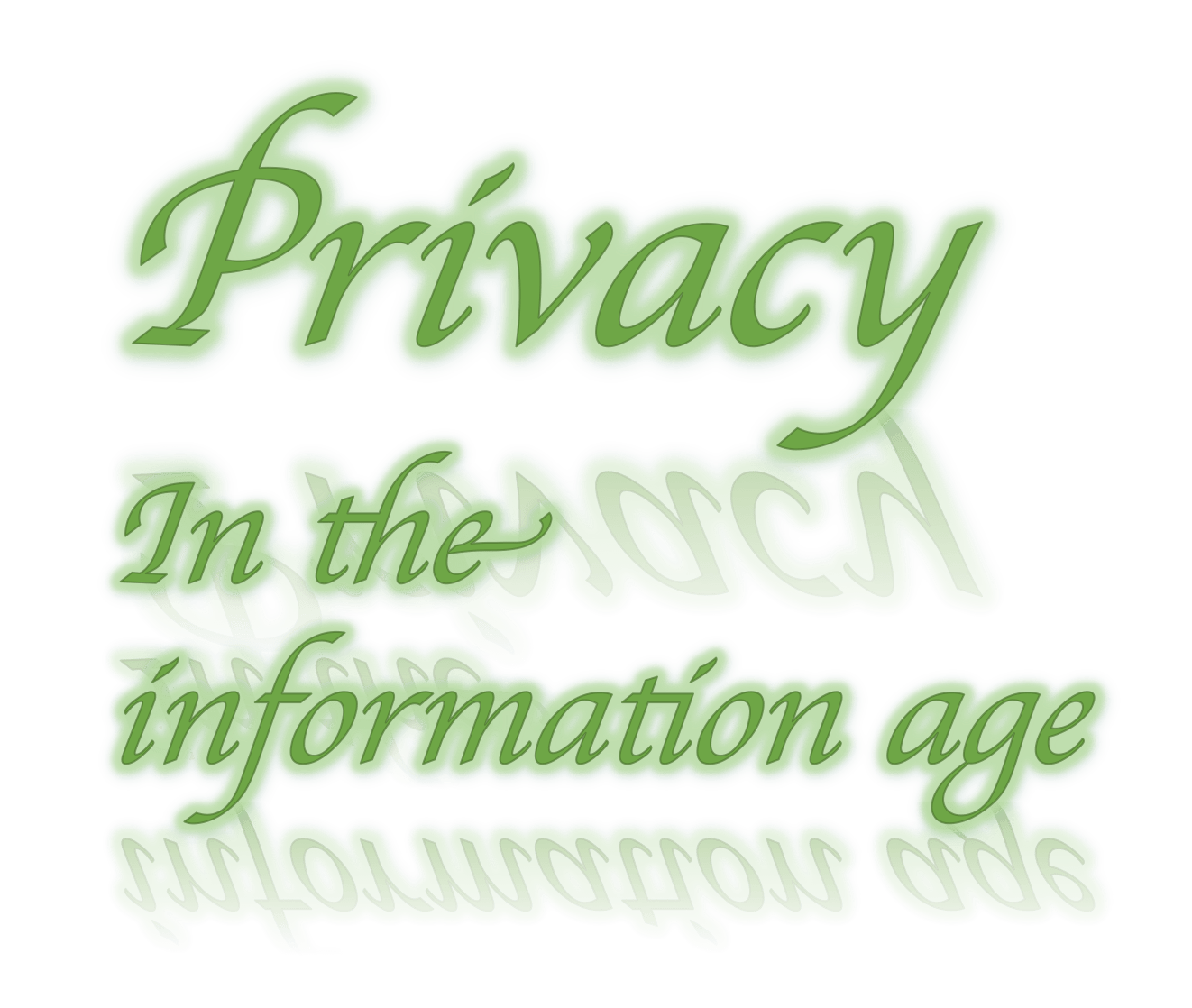 privacy in the information age essay Unlike most editing & proofreading services, we edit for everything: grammar, spelling, punctuation, idea flow, sentence structure, & more get started now.