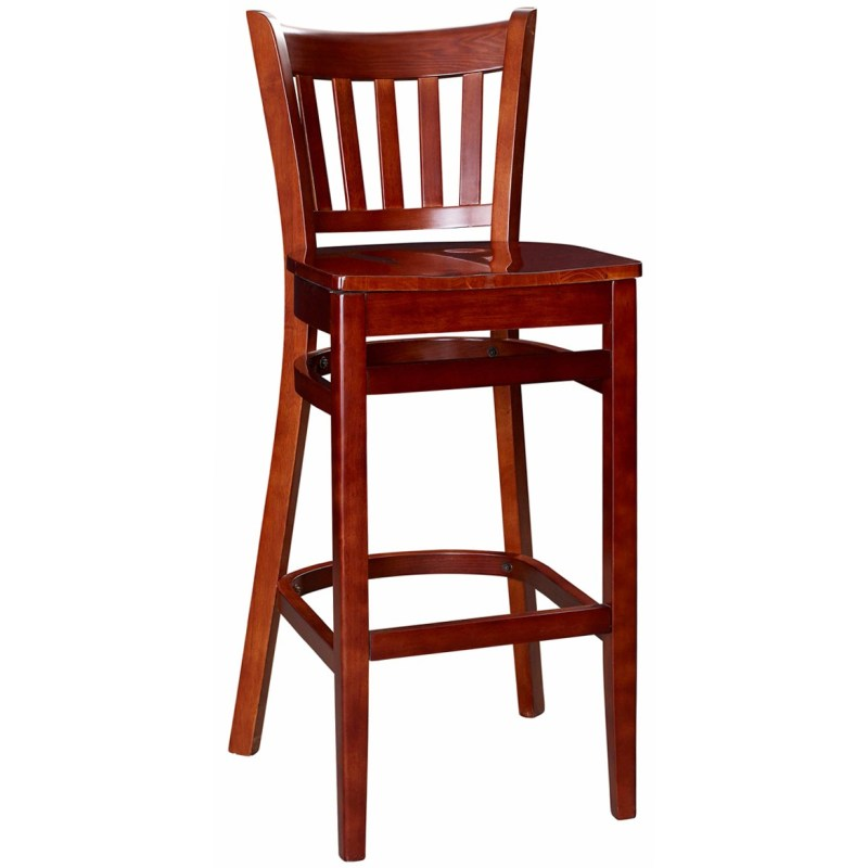 Terrific Sale Restaurant Barstools Wood Bar Stools Diy Wood Bar Stools Walmart A Wood Seat Vertical Slat Wood Bar Stool Vertical Slat Wood Bar Stool Mahogany Finish