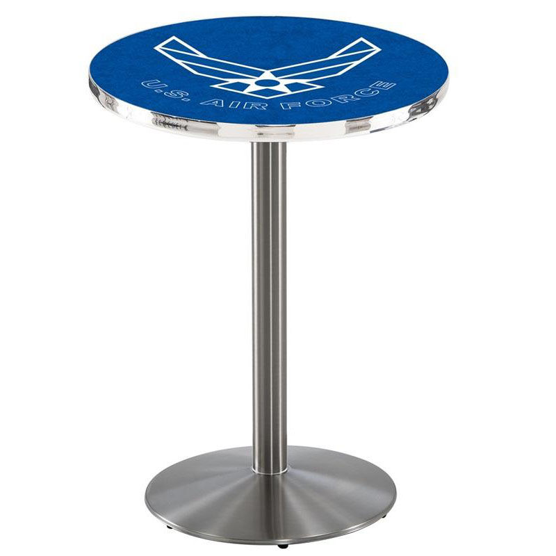 Floor Our United S Air Force Stainless Finish Counter Height Pubtable Usaf Counter Height Pub Table Matw Counter Height Pub Table Counter Height Pub Table Outdoor houzz-03 Counter Height Pub Table