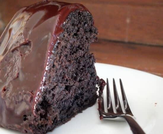 dark ale chocolate bundt