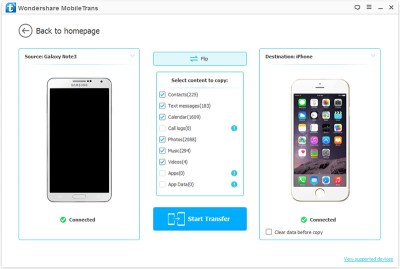 How to Transfer SMS from Android to iPhone 6S/6/iPhone SE