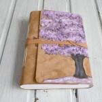 jurnal handmade piele - tree