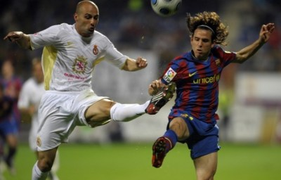 Foto - Asullin, Cultural Leonesa vs Barcelona