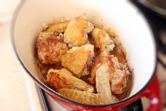 papricas de pui cu smantana, preparare 1
